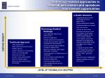 technology enabled approaches to financial performance and operations improvement opportunities