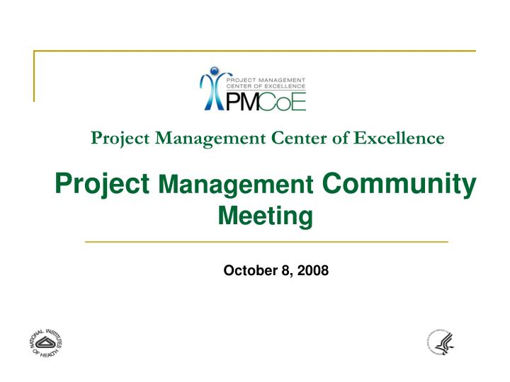 project management center of excellence n.