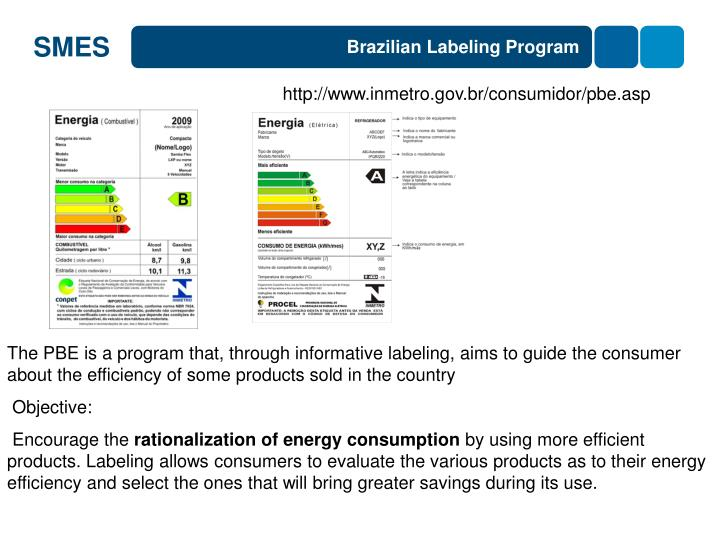 Brazilian Labeling Program