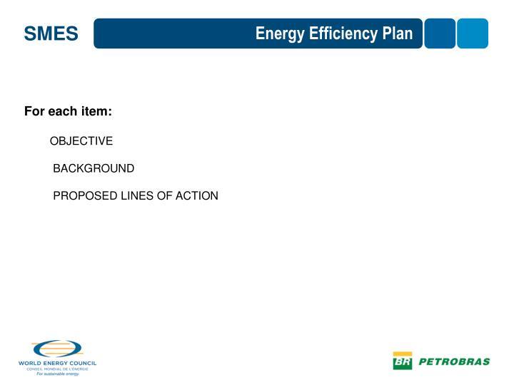 Energy Efficiency Plan