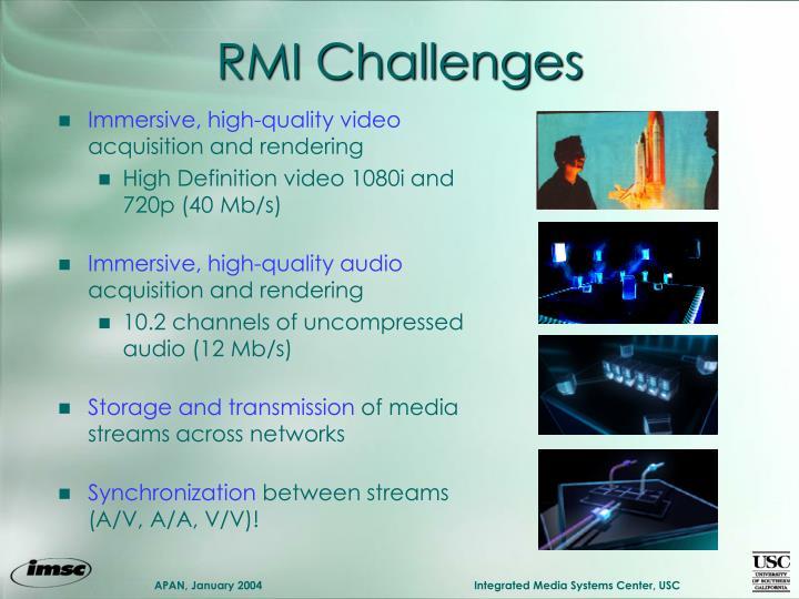 RMI Challenges