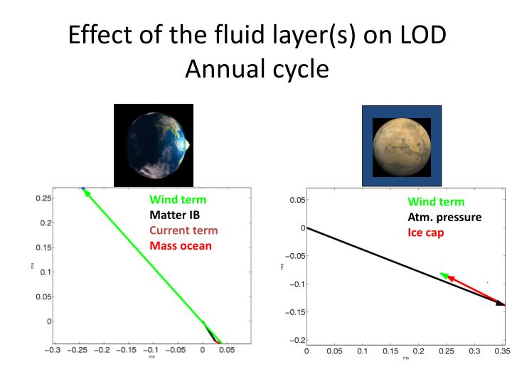 Effect of the fluid
