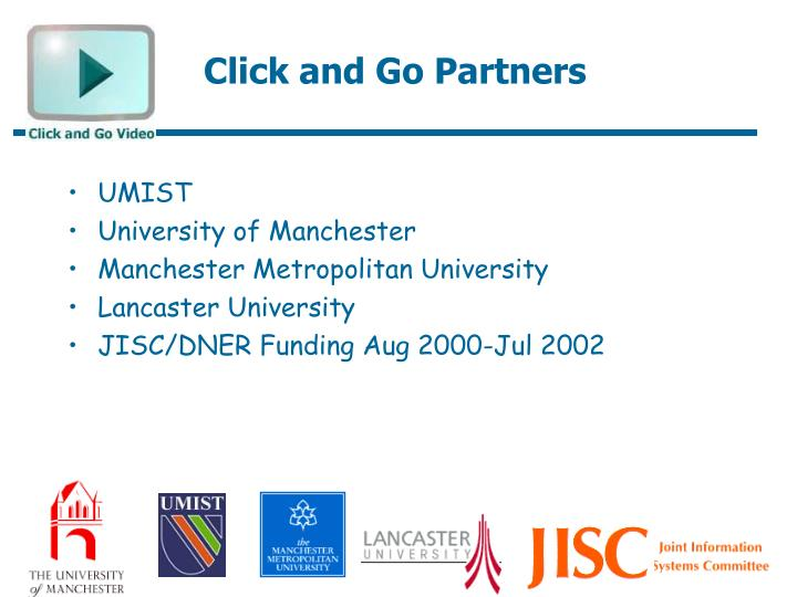 Click and Go Partners