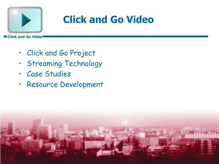 Click and go video1