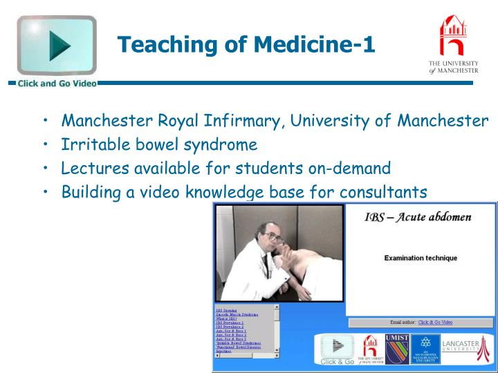 Teaching of Medicine-1