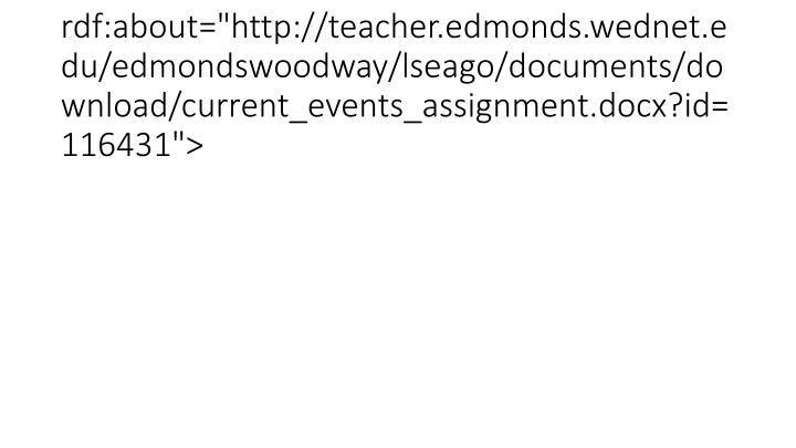"<item rdf:about=""http://teacher.edmonds.wednet.edu/edmondswoodway/lseago/documents/download/current_events_assignment.docx?id=116431"">"