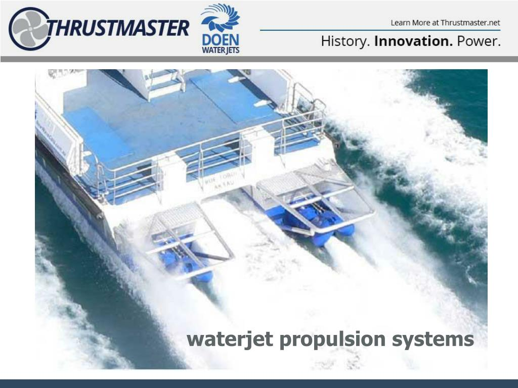 Ppt Waterjet Propulsion Systems Powerpoint Presentation Free Download Id 4036498