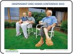 independant care homes conference 20104