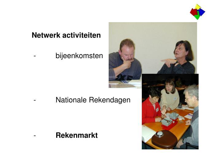 Netwerk activiteiten