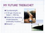 my future trebuchet