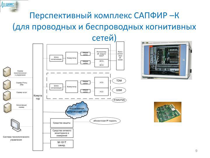 Перспективный комплекс САПФИР –К