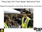 poway high 2014 team spyder mechanical team5