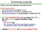 armstrong axi m k
