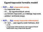 egyed kapcsolat form lis modell1