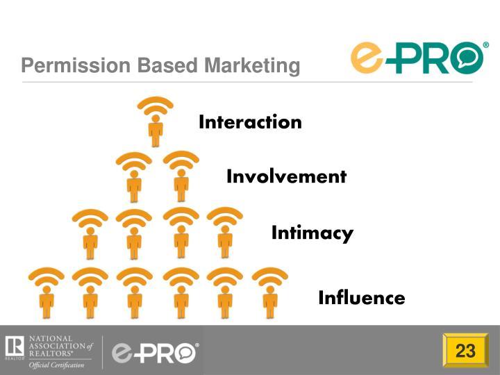 Permission Based Marketing