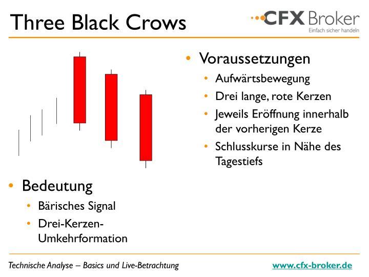 Three Black Crows