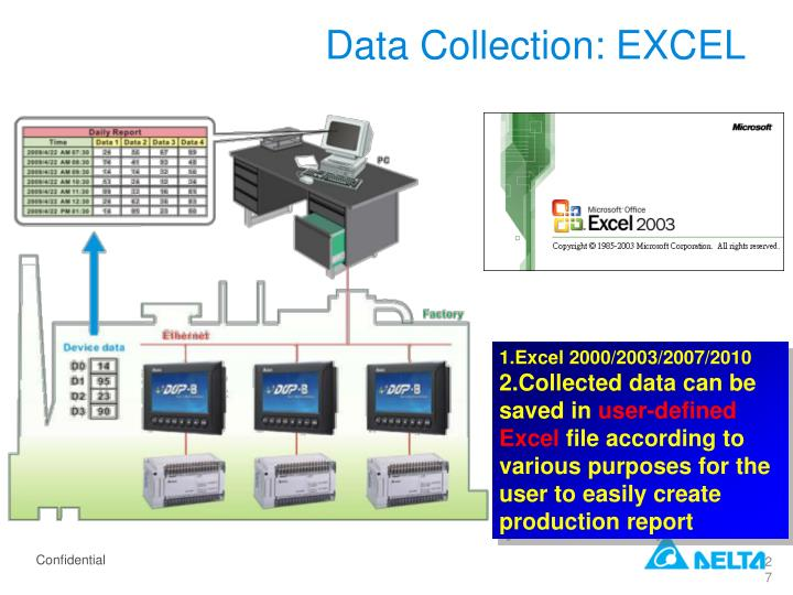 Data Collection: EXCEL