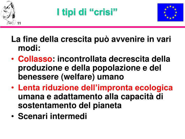 "I tipi di ""crisi"""
