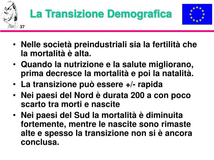 La Transizione Demografica