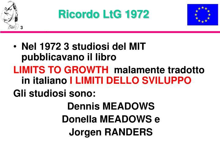 Ricordo ltg 1972