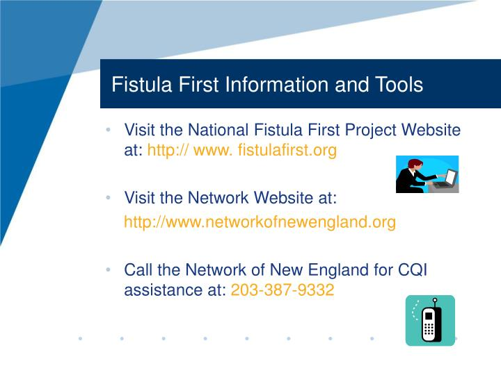 Fistula First Information and Tools