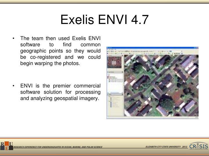 Exelis ENVI 4.7