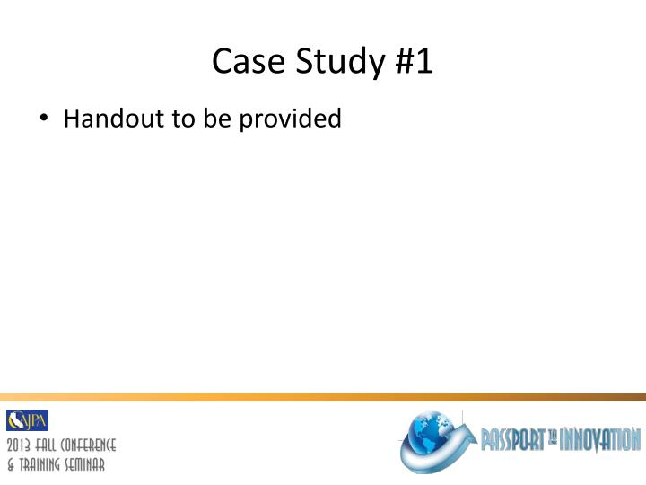 management consulting case study questions • a case interview is a type of job interview, used most frequently by strategy consulting firms, that allows an applicant to demonstrate his/her ability to solve a given business problem during a case interview, an interviewer presents a situation or case and then asks the applicant.
