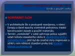 architektura a stavitelstv obdob rom nsk ho st iii vznik a pou it slohu1