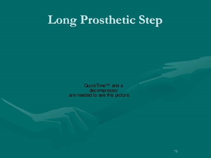 Long Prosthetic Step
