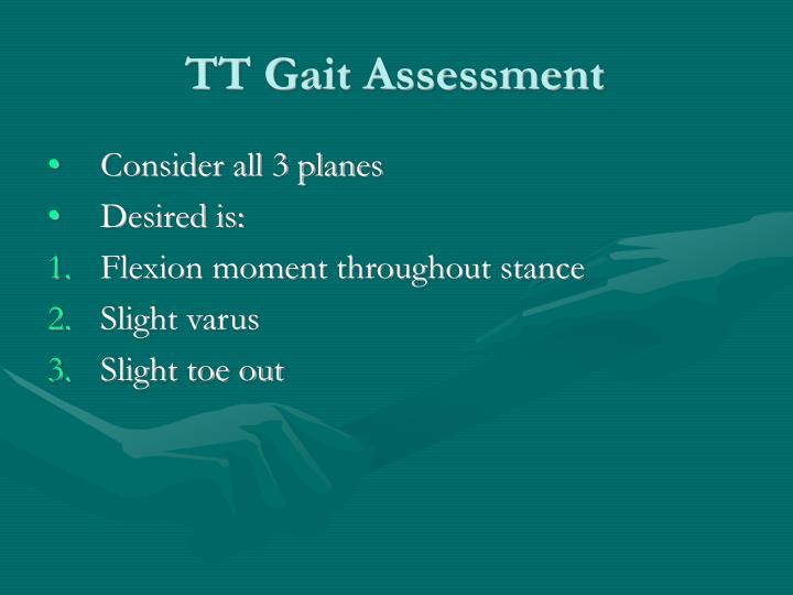 TT Gait Assessment