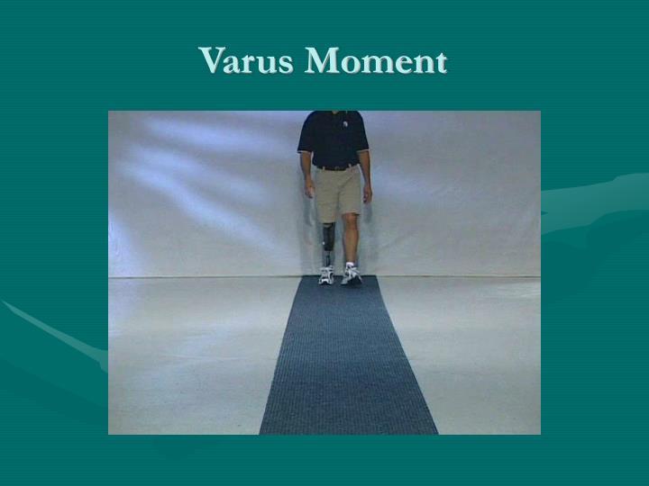 Varus Moment