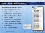 create custom theme colors