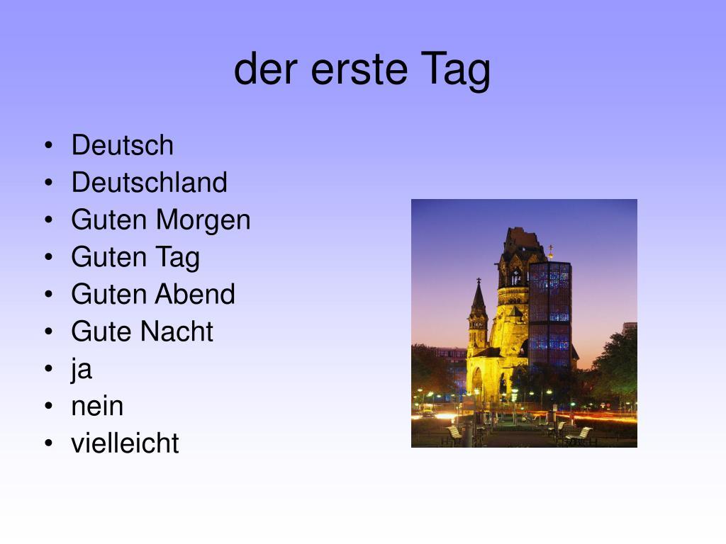 Ppt Herzlich Willkommen In Deutsch Powerpoint