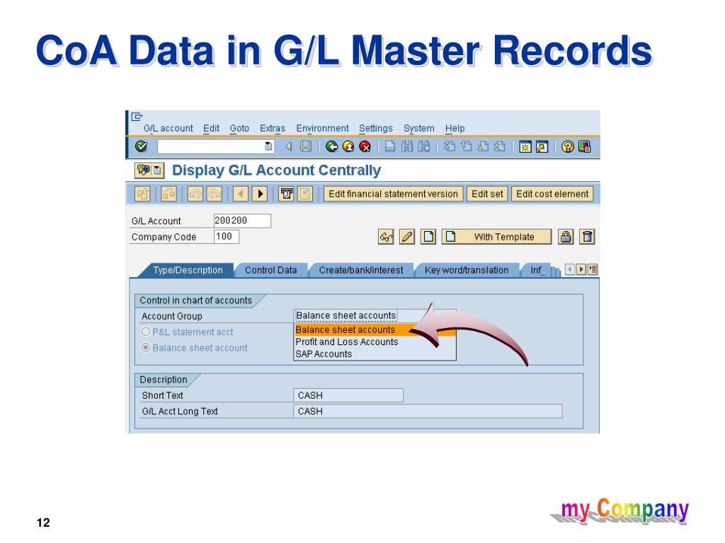PPT - General Ledger PowerPoint Presentation - ID:4040311
