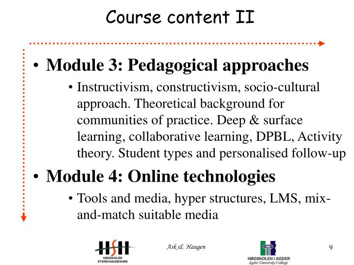 Deeper Learning A Collaborative Classroom Is Key : Ppt an on line course for tutors professors