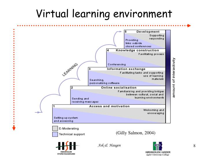 virtual learning environment essay Time use, immersive virtual learning environment, virtual environment what are the benefits of standardizing of the functional layout, hotkeys, display of websites what must happen so that people like me, who are visually impaired, can work more efficiently is a standardization of the website layout with each category, eg citation should.