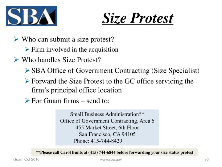 Size Protest
