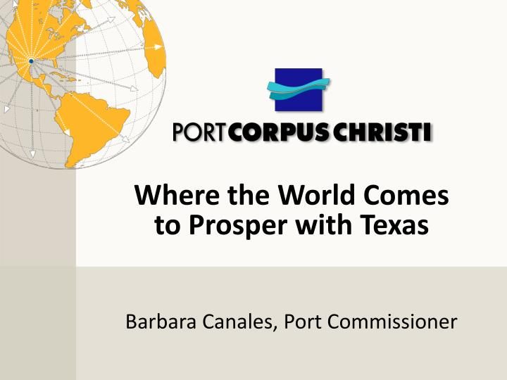 barbara canales port commissioner