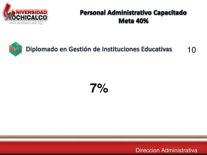 Personal Administrativo Capacitado