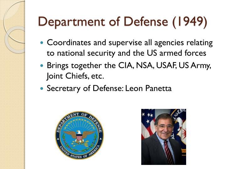 Department of Defense (1949)