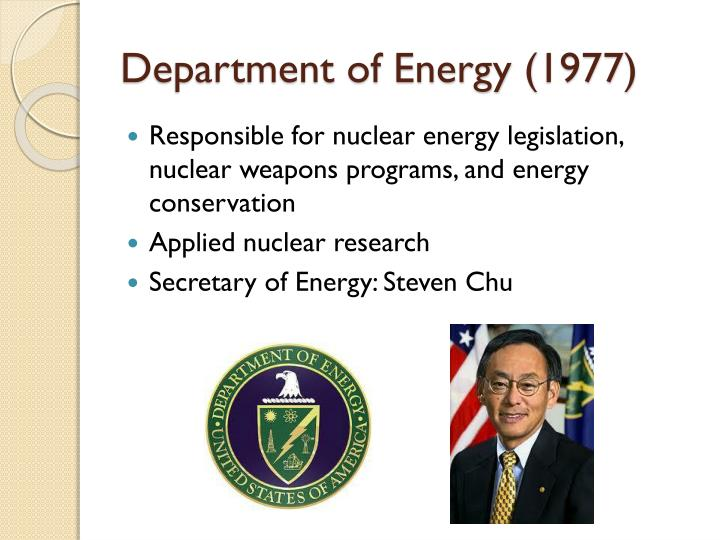 Department of Energy (1977)