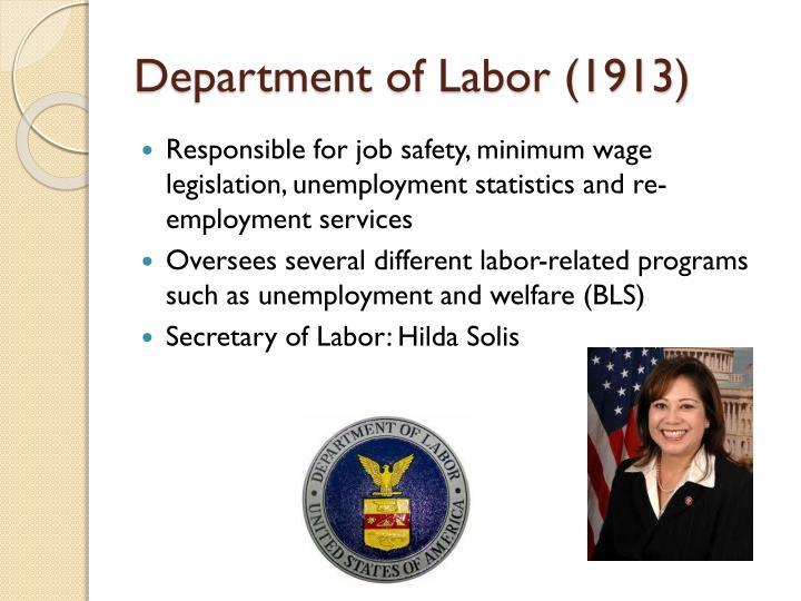 Department of Labor (1913)