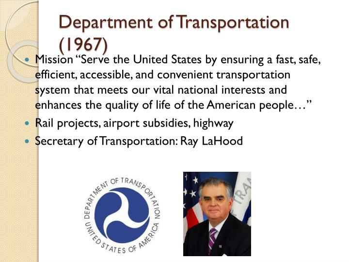 Department of Transportation (1967)