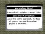 vocabulary word1