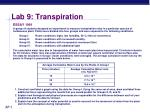 lab 9 transpiration4