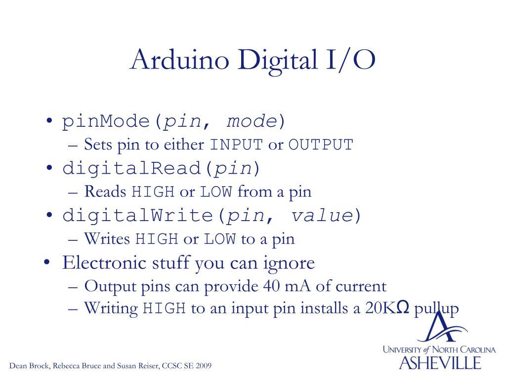 PPT - Using Arduino PowerPoint Presentation - ID:4041305