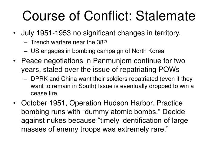 Course of Conflict: Stalemate