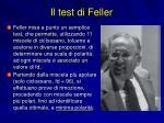 il test di feller