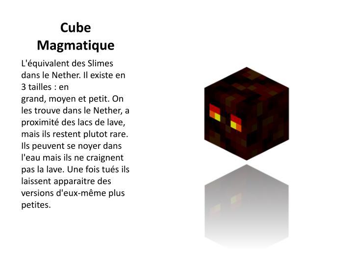 Cube Magmatique