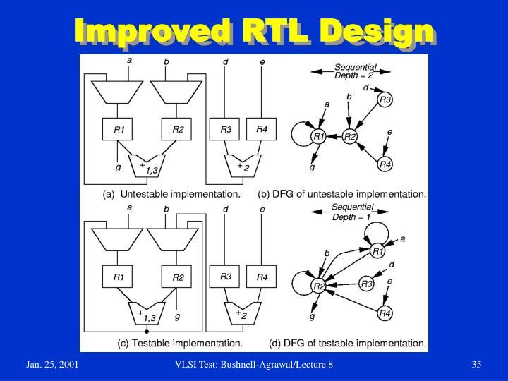 Improved RTL Design